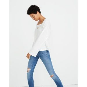 Madewell | NWT Square Neck Dolman Sleeve Top S